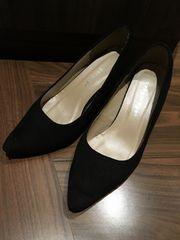 パンプス 黒 靴 使用感あり