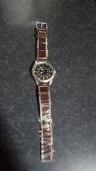リーガル/REGAL腕時計/新品革ベルト&電池交換済み期限値下げ