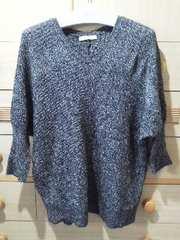 ローリーズファームドルマン型セーター/送料250円