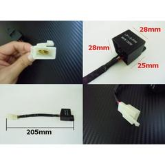 送料無料 汎用 2ピンICウインカーリレー LED化ハイフラ防止 BIKE