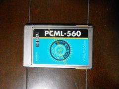 ★モデムカード アイオーデータ PCML-560 V.90 K56flex