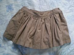 バーバリーブルーレーベル ホースマーク刺繍プリーツスカート
