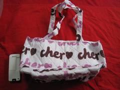 限定Cher シエル キルティング トートバック 未使用