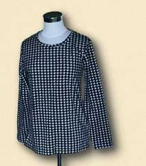 新品千鳥格子長袖TシャツMサイズ