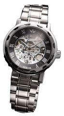 自動巻き 生活防水 腕時計 スケルトン