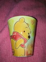 #新品#くまのプーさん ファジー柄メラミンカップ コップ