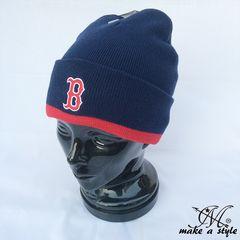ボストン レッドソックス ニットキャップ ニット帽 MLB b系 433
