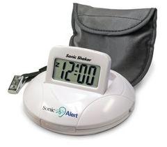 新品 送無 携帯型振動式目覚まし時計 ソニックシェーカー SBP100