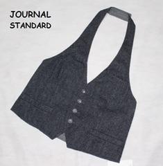 ジャーナルスタンダード*journal standardウール*メタル釦ボルダーベスト新品