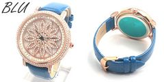スピナー シチズンMIYOTAMM 革ベルト レディース腕時計 BLU