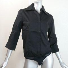 【新品★40】ボディーシャツ★シャツの気崩れ防止!黒★日本製