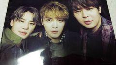 JYJ★生写真◆ジェジュン、ユチョン、ジュンス