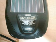 SKY235GR(GPS&ソーラー&デンゲンハイセン)