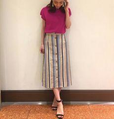 キャサリンハーネル★定価2万ローズカラーが美しい上質ブラウス