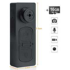 16GB超小型USBメモリ隠しスパイカメラ、ミニビデオ カメラ