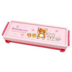 【リラックマ】可愛い筆記具.コスメ.小物入れに♪コンテナプラケース
