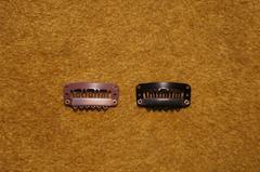 3.3cm ウィッグ エクステ クリップ ピン 4個 業務用 標準