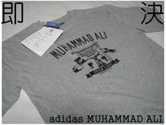 USA超限定SAMPLE版 adidas製MUHAMMED ALI Tシャツ灰