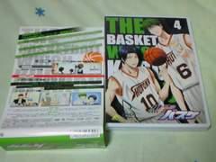 DVD 黒子のバスケ(第1期)第4巻 初回限定版 アニメイト特典付属
