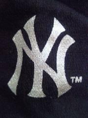 野球 アメリカ メジャーリーグ ニューヨーク ヤンキース トレーナー スエット Mサイズ グレー ブラック