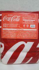 コカ・コーラ ラウンドタオル 大ロゴ 非売品