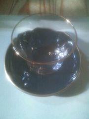 タチキチアダムとイブ冷茶グラス&茶托1組