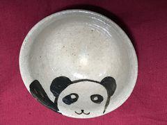 手作りハンドメイド陶器★パンダ★パンダ絵皿★小皿★一点物