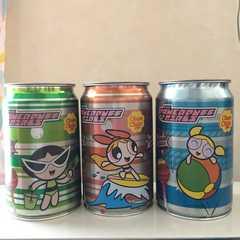 パワーパフガールズ  チュッパチャプス 空き缶
