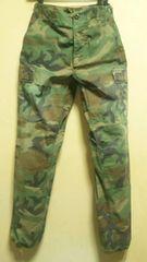 ミリタリー¶U.S.ARMY[米軍]★BDUトラウザー・迷彩パンツ 〜80cm/送\255〜