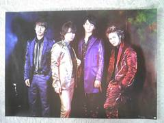 KAT-TUN シングル【Dead or Alive】通常盤特典ポスター