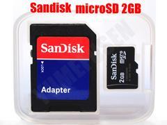 送料無料 間違いなくサンディスク SANDISK microSD マイクロSD 2GB バルク