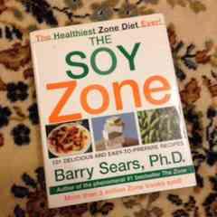 *美品 レア ダイエット本 SOY ZONE / Barry Sears