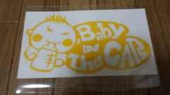 未使用 Baby in The CAR オリジナルステッカー