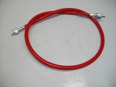 (2056)ZRX400/�Uゼファー400新品赤スピードメータワイヤ-