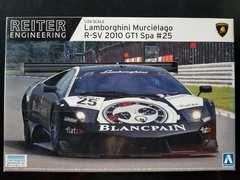 ☆1/24 アオシマ ランボルギーニームルシエラゴR-SV2010 GT1 Spa