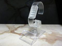 新品4 定形外可 腕時計スタンド 1個 アクリル 角度調節可能