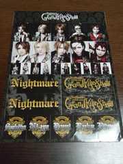 ナイトメア†TOUR 2008 Grand Killer show ステッカー