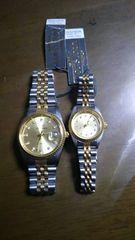 LOUIS JORDI腕時計 ペア ジャンク 定価58000円 格安 正規品