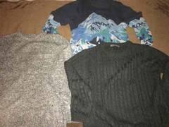 美品ブランドメーカーセーター3枚セットメンズメゾンセレクト系