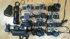 レトロ フィルム式 カメラ ジャンク12台まとめ売り 一眼レフ