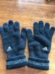 アディダス adidas 手袋 ブラック 黒