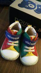 ミキハウス12.5ファーストシューズベイビーキッズカラフル運動靴