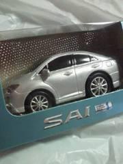 TOYOTA トヨタ自動車 SAI サイ HYBRID ハイブリッド プルバックカー ミニカー シルバー