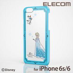 【送料込】iPhone6 ケース シェルカバー Disney エルサ
