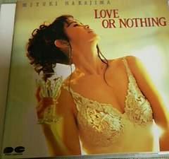 CD 中島みゆき LOVE OR NOTHING 帯なし