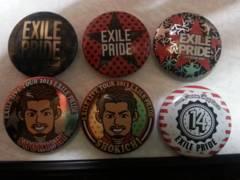 EXILE SHOKICHI 缶バッジセット