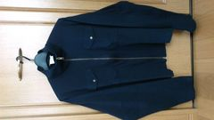 訳あり激安82%オフアニエスb、長袖シャツ(美品、紺、M〜L位)
