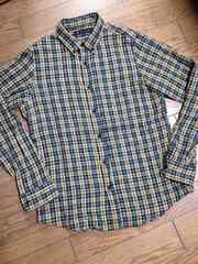 美品SHIPS JET BLUE チェックシャツ 日本製 シップス