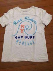 GAP kids  サーフ白ティシャツ