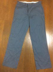 Dickies work pants 34×32 ライトグレー